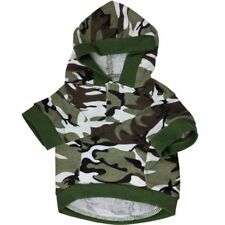T-shirt Cotton Hoodies Costume Camo Coats Sweatshirt Camouflage Dog Clothes