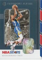 KEVIN DURANT 2019/20 Hoops  * FREQUENT FLYERS Insert * #1 NETS