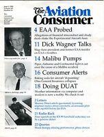 The Aviation Consumer Magazine June 1 1990 EX No ML FAA Library 102016jhe