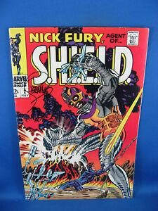 Nick Fury, Agent of SHIELD #2 (Jul 1968, Marvel) VF NM SIGNED STERANKO