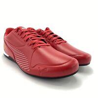 PUMA Men's SF Drift Cat 7S Ultra Rosso Corsa Puma White Sneaker Shoes Size 10 M