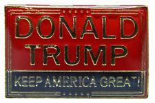 Donald Trump 2020 Keep America Great Lapel Pin Us Usa Gold