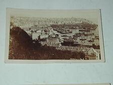 GENES Italie Génova carte de visite  photographie panorama photo  Alfredo NOACK