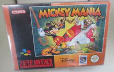 Mickey Mania (Nintendo SNES) PAL OVP/Modul/Anleitung