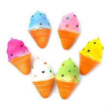 Cute Soft Cone Squishy Super Slow Rising Scented Ice Cream Toy Bread Kid Gift