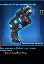 SWTOR - Waffe - Scorpion-TK-Prototyp-Blaster - Tulak Hord - Credits