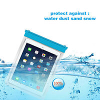 Waterproof Underwater Pouch Dry Bag Case Cover For iPad Tablet Touch Device