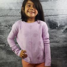 Bethany Mota Girl Youth XS Sweater Purple Heart Shapes Knit