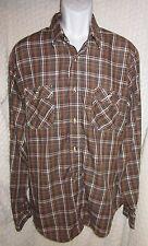 Vintage Levi's double chest pocket westernwear shirt Size L/Xl