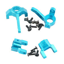 AXIAL SCX10-01+SCX10-02 Blue Front Knuckle Arm+C Hub Carrier For RC 1/10 SCX10