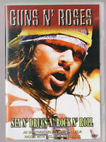 LIKE NEW  DVD R4  Guns n' Roses: Sex n' Drugs n' Rock n' Roll