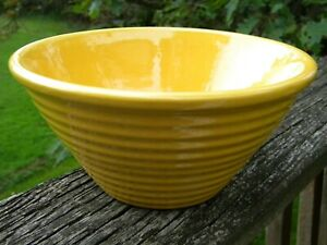 Garden City Pottery Yellow Bowl 18