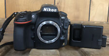 Nikon D810 FX 36.3 MP Digital SLR Camera Black (Body Only) w/ Battery & Charger