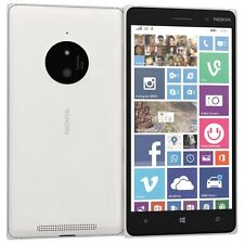 Brand New Nokia Lumia 830 Windows 3G 4G GPS Wifi Unlocked 16GB Smartphone White.