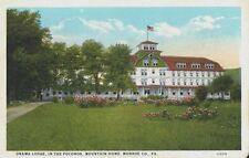 Old Postcard - Onawa Lodge In The Poconos Mountain Home - Monroe Co. PA