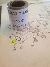 Scat Trak Skid Steer 1750 D Splined Bushing Coupling,Tanden Part # 8034238 scat