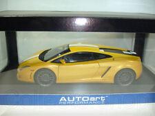 Autoart : Lamborghini Gallardo LP550-2 Balboni Yellow Metallic 74632