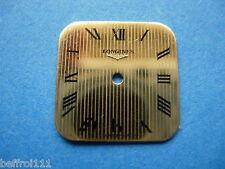 petit Cadran doré a rayure d forme montre Longines dial,Zifferblatt,esfera