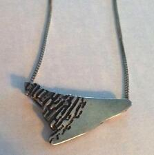 Lovely Vintage Sterling Pendant and Chain .925