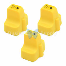 3 YELLOW 02 New GENERIC 02 02XL 02 02XL Ink Cartridge for HP Inkjet Printer