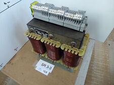 Schmidt D100 3-Ph Transformator VA 1000 Prim 220-500V 2,6-1,3A Sek 18-20-22V 25A