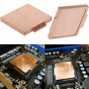 Für LGA 115X i7 CPU 3770K 4790K 6700K 7700K 8700K 9900K Mirror Pure Copper Cover