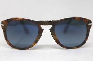 PERSOL Steve McQueen 714SM Folding Sunglasses Blue Polarized 54mm