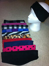 Cosy Fleece Headband for Golf, Skiing, Cycling/Riding/Walking/outdoor hobbies