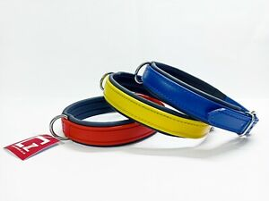 BIOTHANE DOG COLLAR, DURABLE, WATERPROOF, IN 3 COLOURS