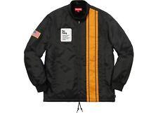 Supreme Pit Crew Jacket Black Medium New