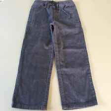 Mini Boden Awesome Boys Grey Pull On Corduroy Pants. 6-7 years. So Comfy!