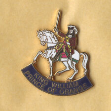 king william enamel badge ulster scots billy rfc loyalist orange lilly ulster
