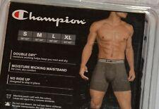 Men's New Underwear Champion Boxer Brief Black Size M