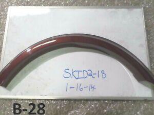 NEW OEM REAR QUARTER FENDER FLARE MERCEDES BENZ ML63 ML550 06-11 NOS RED MOLDING