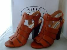 Steve Madden MADYSIN Cognac Leather Women's Shoes - Size 8
