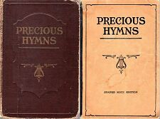 PRECIOUS HYMNS Robert H Coleman SHAPE NOTES 1938 Hymnal PB Rule Haskell Texas +