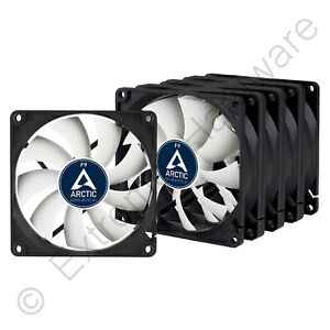 5 Pack Arctic F9 Value Pack Standard 92mm Case Fans 1800 RPM 3-Pin