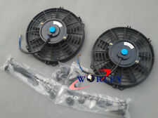 "2x12"" inch Universal Electric Radiator Intercooler COOLING Fan +mounting kit"