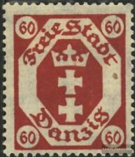 Danzig 81a geprüft gestempelt 1921 Staatswappen