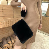 Super Soft Fur Wallets / Handbags Women Full-pelt Rex Rabbit Fur Shoulder Bags