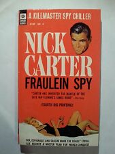 Fraulein Spy: Nick Carter Universal 1966 Sleaze/GGA/Fiction/Adult E-36