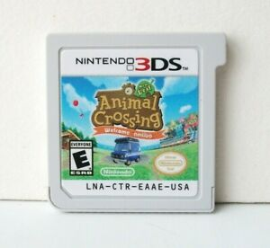 Animal Crossing New Leaf Welcome amiibo (Nintendo 3DS) Game Clean Cart Selects
