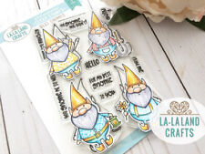Best Gnomies-La-La Land Crafts Clear Photopolymer Stamp-Stamping Craft-Gnome