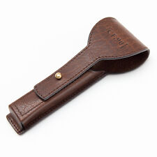 Captain Fawcett's Handcrafted Leather Razor Case ONLY (CF.90) for Mach 3 Razor