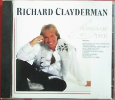 "RICHARD CLAYDERMAN - CD ""SONGS OF LOVE"""