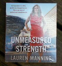 Unmeasured Strength 9/11 Story by Lauren Manning AudioBook 6 CD NEW