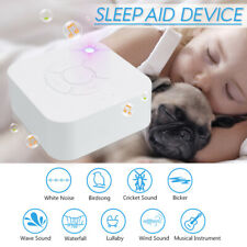White Noise Generator Therapy Sleeping Spa Easy Sleep Kid 9 Relax Sounds Machine