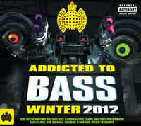 Various Artists : Addicted to Bass: Winter 2012 CD 3 discs (2012) Amazing Value