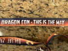 2020 Dragon Con The Mandalorian Lanyard Dragoncon DC Star Wars Disney Baby Yoda