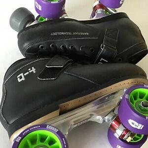 Atom Q4 Falcon Skates Size  7.0 +